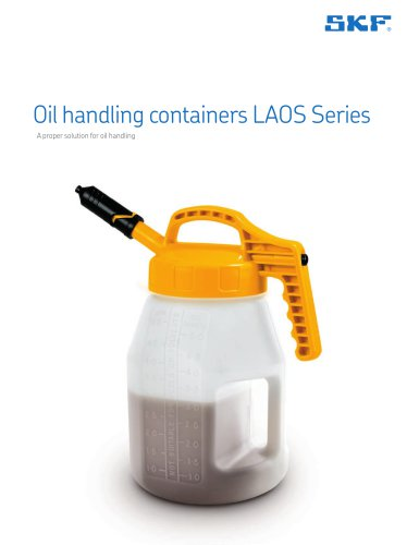 Oil handling containers LAOS Series