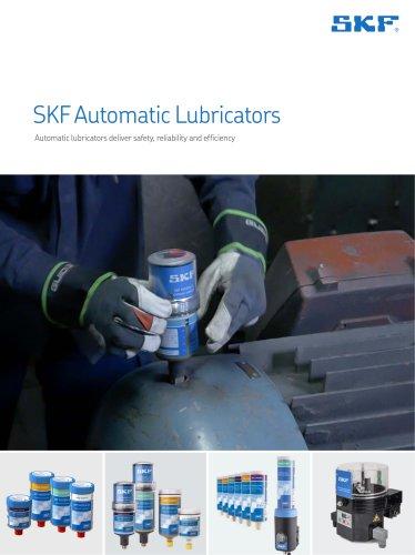 SKF Automatic lubricators - Brochure