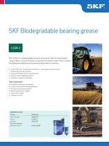 SKF Biodegradable Bearing Grease LGGB 2