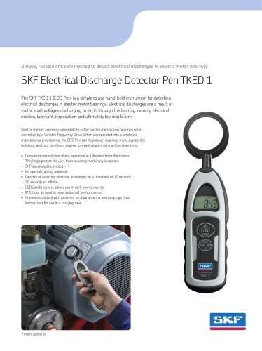 SKF Electrical Discharge Detector Pen TKED 1