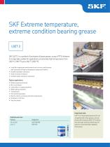 SKF Extreme Temperature, Extreme Condition Bearing Grease LGET 2