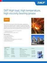 SKF High Load, High Temperature, High Viscosity Bearing Grease  LGHB 2
