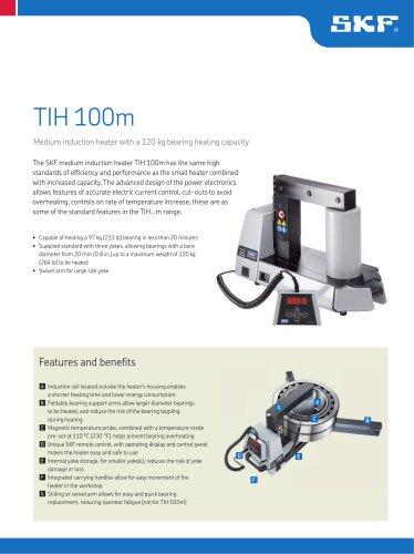 SKF medium induction heater TIH 100m