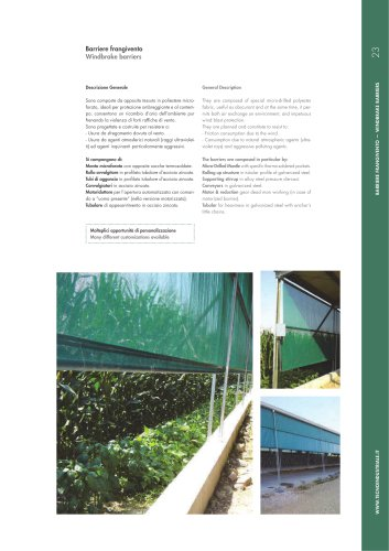 Windbrake barriers