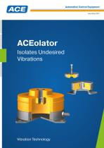 ACE Catalogue ACEolator Vibration Control