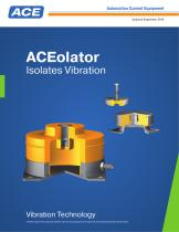 ACEolator Isolates Vibration Updated September 2016