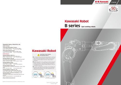 B Series Spot welding robots