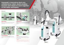 """Dual-arm SCARA Robot """"duAro"""" - 2"""