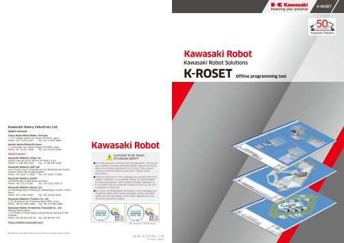 K-ROSET Offline programming tool