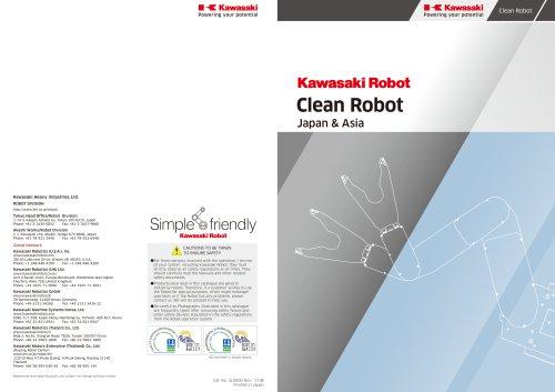 Kawasaki Clean robots