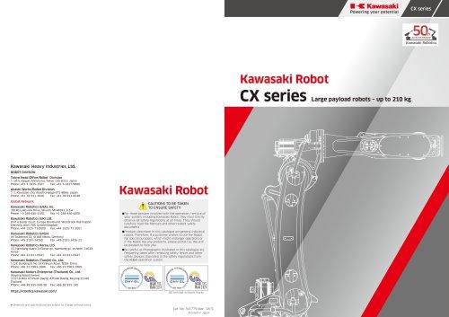 Kawasaki CX Series robots