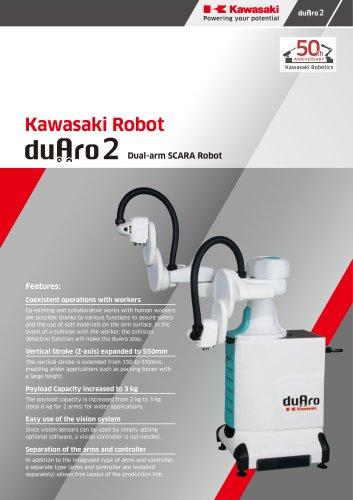 Kawasaki Robot duAro 2