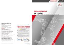 Kawasaki Robot M series Extra large payload robots up to 1,500 kg