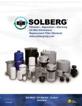 Filtration • Separation • Silencing Oil Mist Eliminators Replacement Filter Element