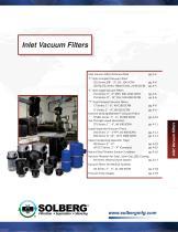Inlet Vacuum Filters