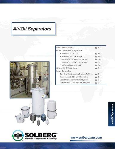 Vacuum Pump Oil Mist Filters