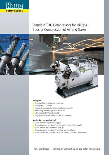 TOG Booster Compressor 7.5 - 30 kW