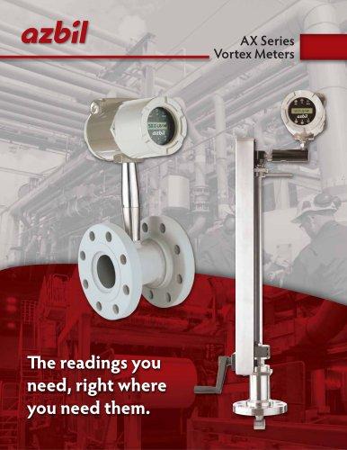 AX Series Vortex Meters