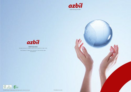 Azbil Group introduction