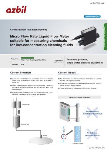 Chemical liquid amount monitor