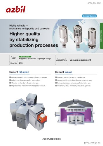 High reliable resistance vacuum measurement