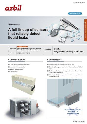 Liquid leakage sensors