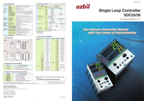 Single Loop Controller SDC25/26