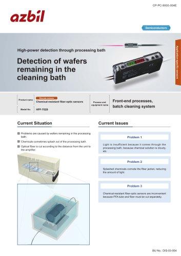 Wafer detection sensor