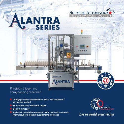 Alantra Air Pump & Trigger Capping Machine