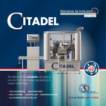 Citadel Packaging Machine for Wipes in flexible packs