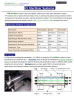 UV Sterilizer Systems