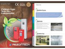 Cabinet-Type Auto Fire Extinguisher