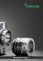 Mechanical seals catalogue - types