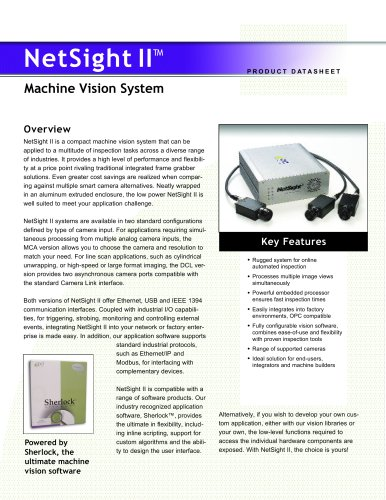 Machine Vision System netsight II