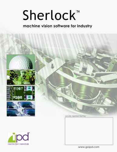 Sherlock machine vision software for industry
