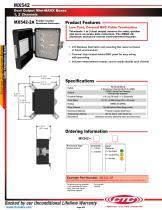 MX542 Dual Output Mini-MAXX Boxes 1, 2 Channels