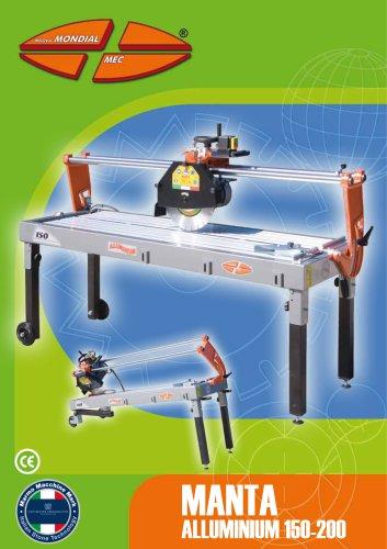 Manta Alluminium 150-200
