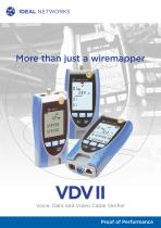 VDV II - Voice, Data and Video Cable Verifier