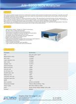 zetian/environmental/ppb/ambient gas analyzer/NOx analyzer/AM-5200/air house/air quality monitoring/gas station