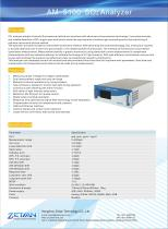 zetian/environmental/ppb/ambient gas analyzer/SO2 gas analyzer/AM-5100/air house/air quality monitoring/gas station