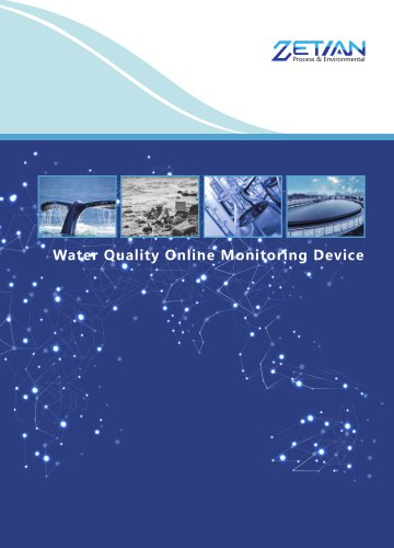 Zetian/Water Quality Online Monitoring System/water pollution continuous monitoring/WDET-5000UVI/Surface water ,groundwater,municiple wastewater