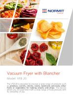 Vacuum Fryer with Blancher