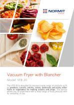 Vacuum Fryer with Blancher