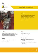 Water Attemperation Unit