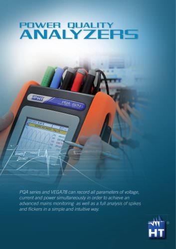 Power quality analyzers Brochure