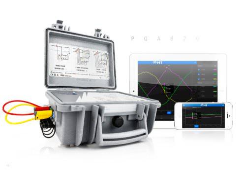 PQA820 revolution in power quality analyzer