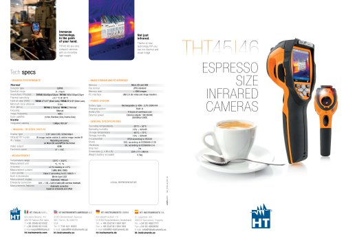 THT46 & THT45 Compact Infrared Cameras