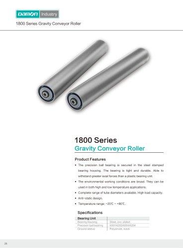 Damon Industry Conveyor Roller 1800 Series for logistics
