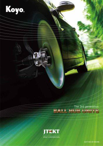 3rd generation ball hub units