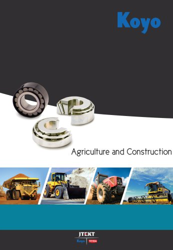 Agriculture and Construction
